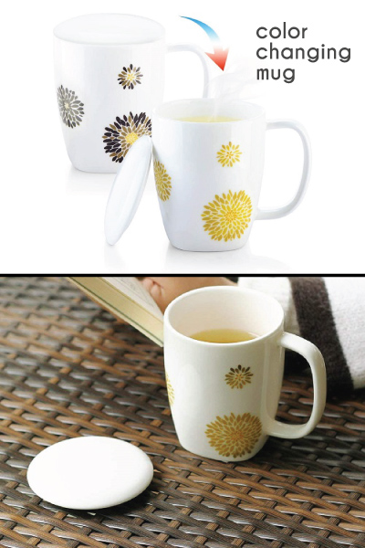 ZENS Chrysanthemum Color Changing Mug