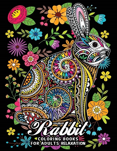 Rabbit Coloring Books for Adults Relaxation