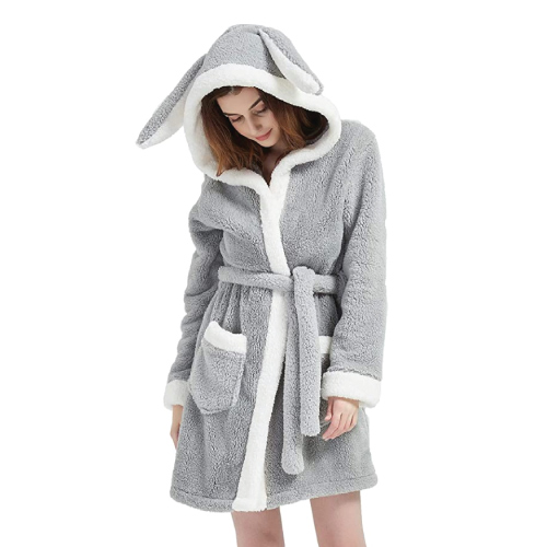 CASODA Plush Bunny Bathrobe