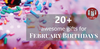 Best Gifts for February Birthdays