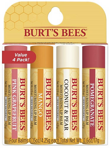 Burt's Bees Natural Moisturizing Lip Balm Superfruit Collection