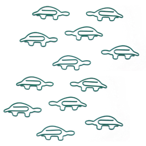 Turtle Shaped Paper Clips