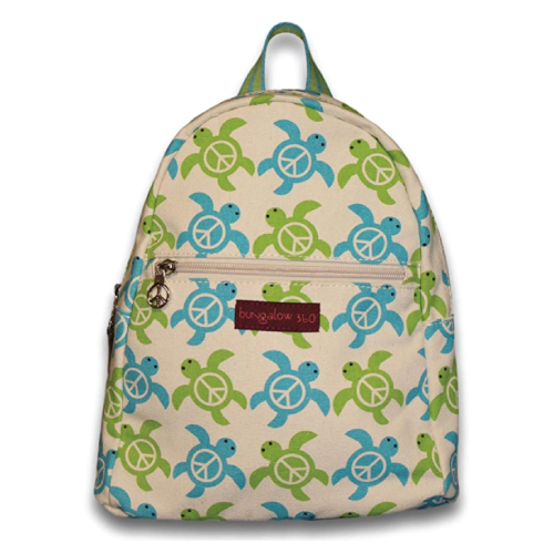 Bungalow 360 Turtle Pattern Mini Backpack