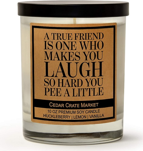 A True Friend Scented Soy Candle