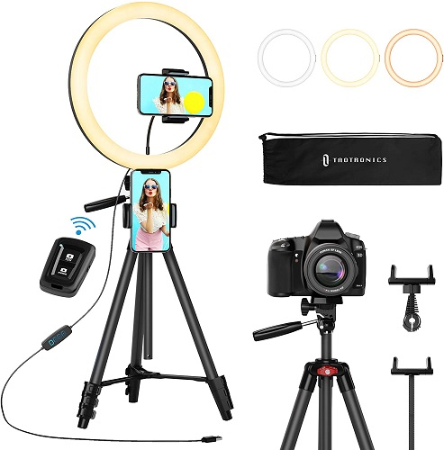 TaoTronics Selfie Ring Light