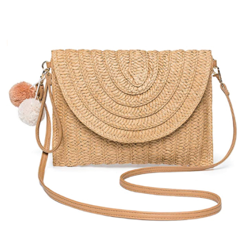 Kadell Straw Clutch