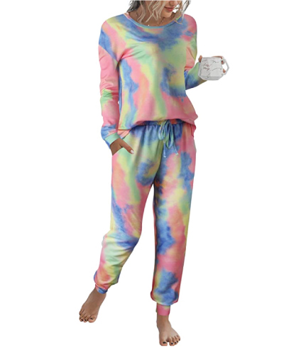 Tie Dye Women's Pajama Sets