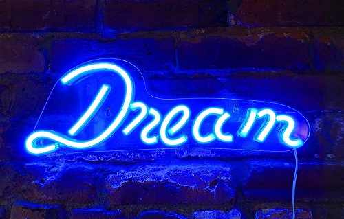 Dream LED Neon Wall Sign