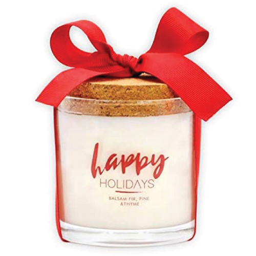 Happy Holidays Candle by Urban Concepts