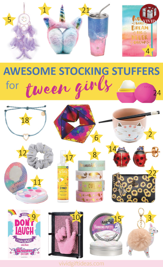 Awesome Stocking Stuffers for Tweens