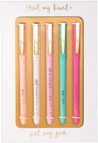 Eccolo Dayna Lee Collection Steal My Heart Ballpoint Pens