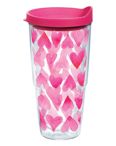 Tervis Pink Hearts All Over Insulated Tumbler