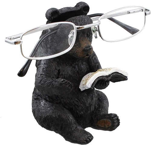 Whimsical Bear Eyeglasses Holder