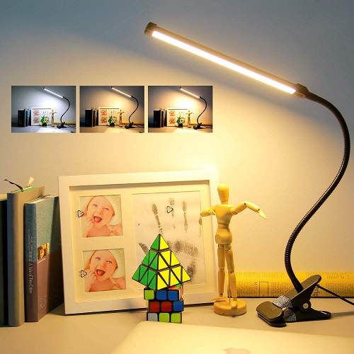 LED Clip On Desk Lamp