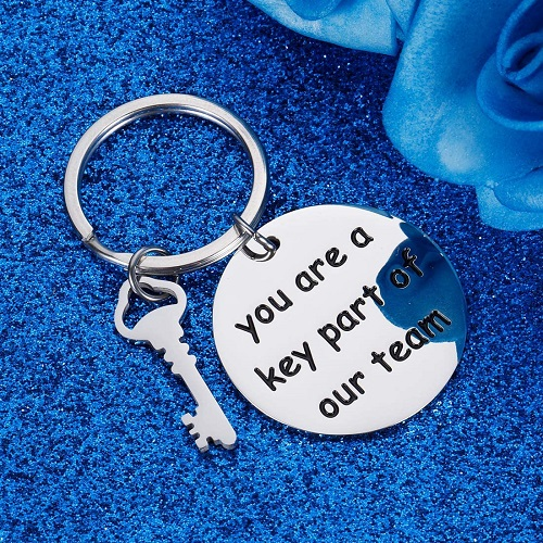 Employee Appreciation Gift Keychain