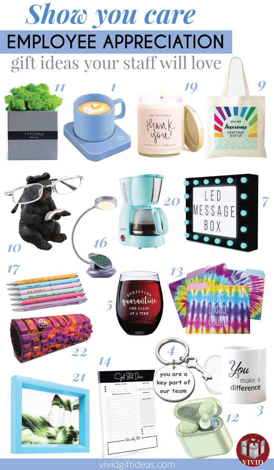 Best employee appreciation gift ideas