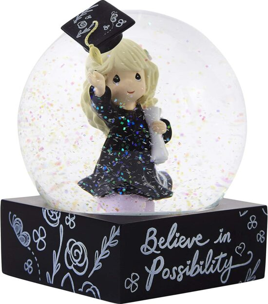 Precious Moments Believe in Possibility Snow Globe